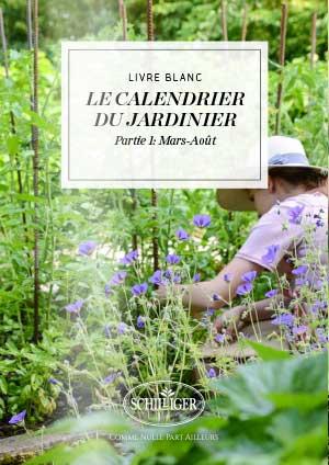 Le calendrier du jardinier Mars-Août