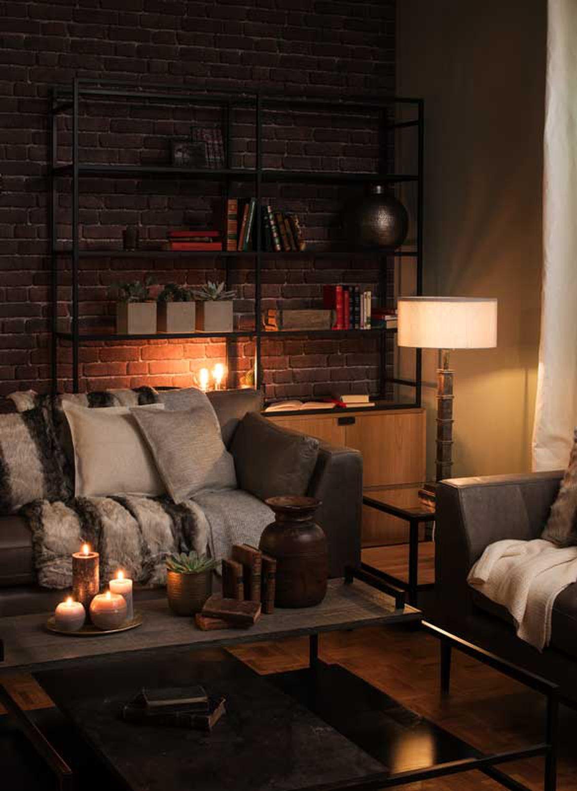 Un éclairage soigné pour un intérieur doux et chaleureux ...