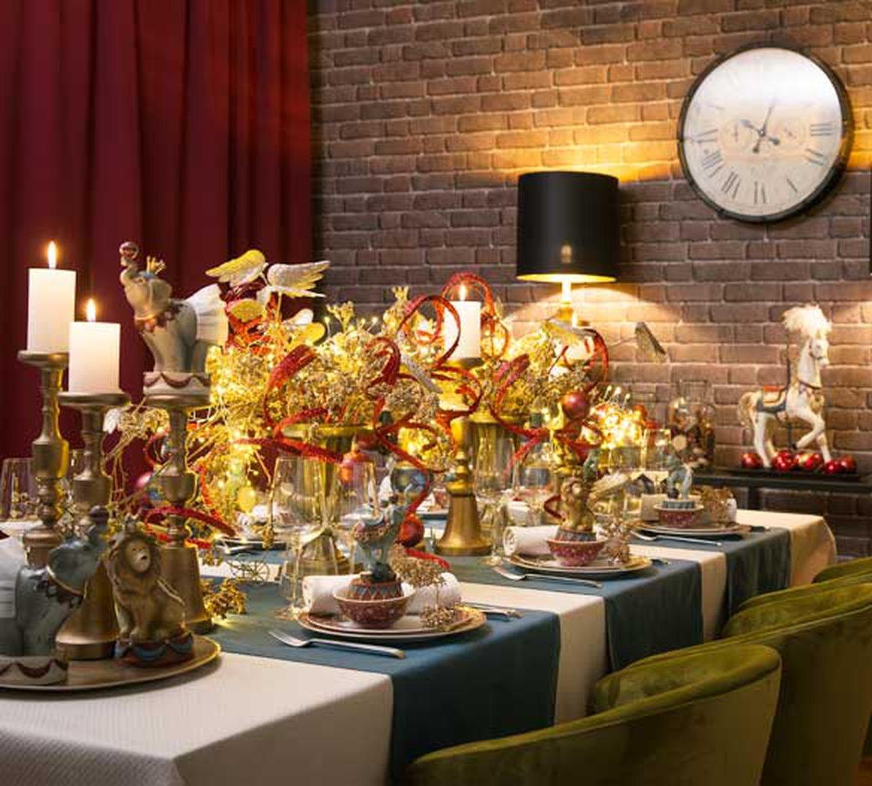 de indispensables NoëlLes décoration raffinée d'une Table Aqc34RjL5