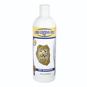 CBD Living Shampooing chien chat  473ml/250mg CBD