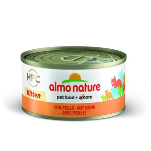 Almo nature  Almo nature  HFC CAT Natural KITTEN Poulet 70g  70 g