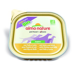 Almo nature  Almo nature PFC Dog Daily menu Bio PUPPY Poulet 300g  300 g