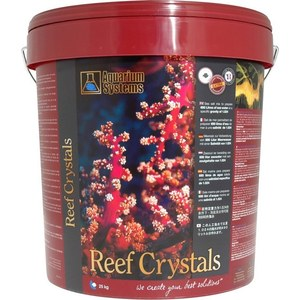 Reef Crystals sel synthétique. 25kg 750l  25kg
