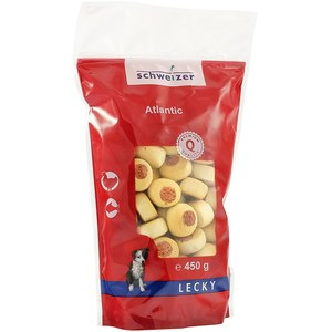 Schweizer  Atlantic biscuit au poisson 450 g  450 G