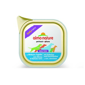 Almo nature  Almo nature PFC Dog daily menu Morue er Haricots Verts 100g  100 g