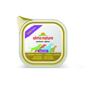 Almo nature  Almo nature PFC Dog daily menu Dinde et Courgettes 100g  100 g