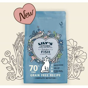 Lily's  Lily's cat Fabulous Fish 800g  800g