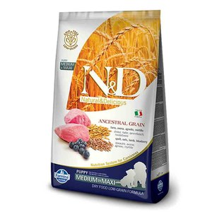 N&D  ND Grain Free Can Puppy mini potir agneau myrt 2.5kg