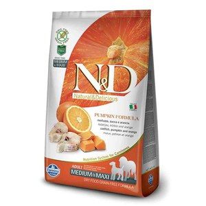 N&D  ND Grain Free Can Adult me/max potir agneau myrt 12kg