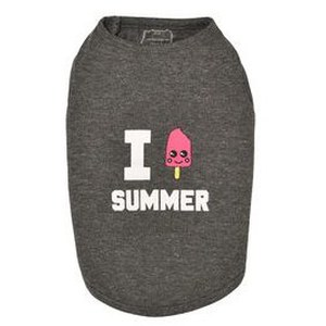 T-SHIRT ICE CREAM 32S GRIS Gris 32 S
