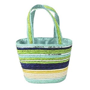 "Sac de transport ""Straw bag basket""  35x20x26cm"