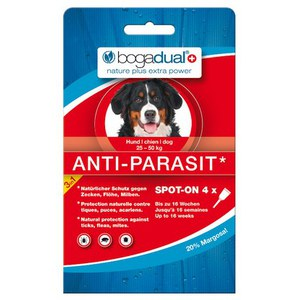 Bogadual Anti-Parasit Spot-on chien grand 4 x 2.5ml  4x2.5ml