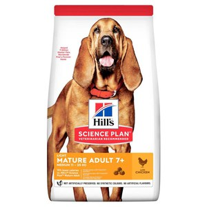 Science Plan  Canine Mature Adult 7+ Light Medium au pulet 14kg  14kg