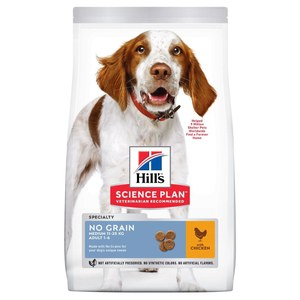 Science Plan  Canine Adult No Grain medium 14kg  14kg