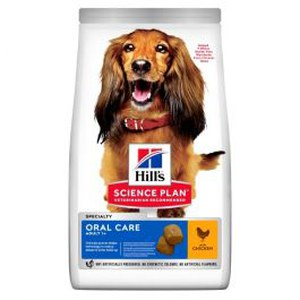 Science Plan  Canine Adult Oral Care Medium au poulet 2kg  2kg