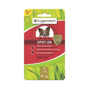 Bogaprotect Spot-On chien XS  3x0.7ml