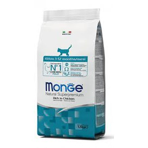 Monge  Monge Cat Kitten Chicken 1,5kg