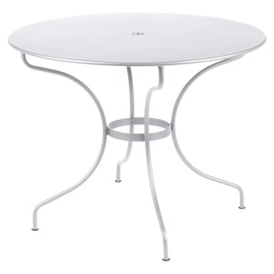 Fermob OPERA Table Opéra ronde TP Blanc L : 96cm