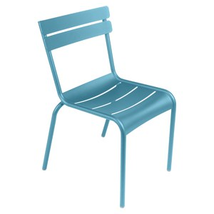 Fermob LUXEMBOURG Chaise Luxembourg Bleu turquoise 52x57x88cm