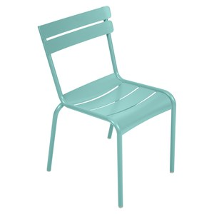 Fermob LUXEMBOURG Chaise Luxembourg Bleu des mers du sud 52x57x88cm