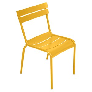 Fermob LUXEMBOURG Chaise Luxembourg Jaune miel 52x57x88cm