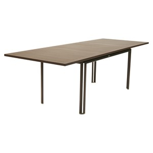 Fermob Costa Table Costa extensible Brun rouille l 90 x H74cm