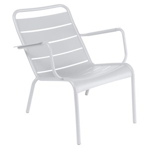 Fermob LUXEMBOURG Fauteuil bas Luxembourg Blanc 69x86x72cm