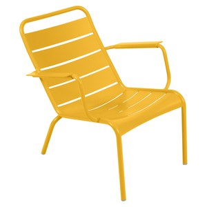 Fermob LUXEMBOURG Fauteuil bas Luxembourg Jaune miel 69x86x72cm