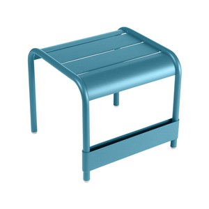 Fermob LUXEMBOURG Table basse Luxembourg petite Bleu turquoise 43x42x40cm