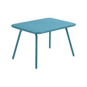 Fermob LUXEMBOURG KID Table Luxembourg Kid Bleu turquoise 75x55x47cm