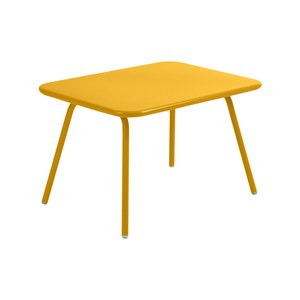 Fermob LUXEMBOURG KID Table Luxembourg Kid Jaune miel 75x55x47cm