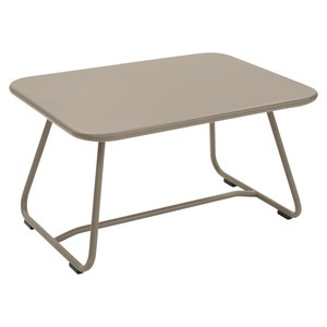 Fermob Sixties Table basse Sixties Beige L 75.5 x l 55.5 x H41cm