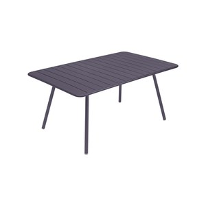 Fermob LUXEMBOURG Table Luxembourg rectangulaire Violet prune 165x100cm