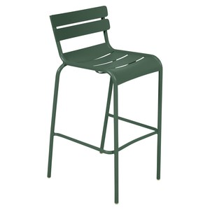 Fermob Luxembourg Tabouret haut Luxembourg Vert sapin L 55 x l 45 x H103cm