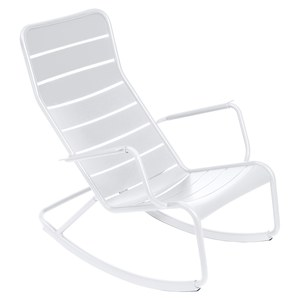 Fermob LUXEMBOURG Rocking Chair Luxembourg Blanc 99x50x69.5cm