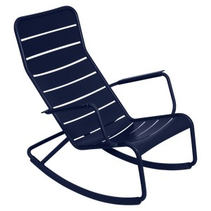 Fermob Luxembourg Rocking Chair Luxembourg Bleu aigue-marine L 105 x l 69.5 x H92cm