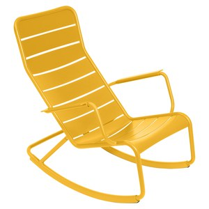 Fermob LUXEMBOURG Rocking Chair Luxembourg Jaune miel 99x50x69.5cm