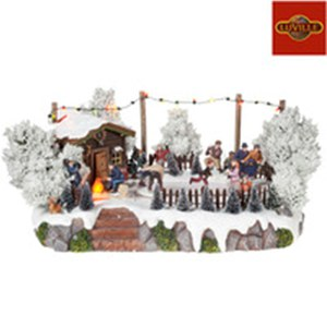 Luville  Patinoire Forest  30x27.5x18cm