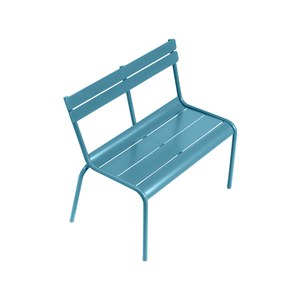 Fermob LUXEMBOURG KID Banc Luxembourg Kid Bleu turquoise 58.5x55cm