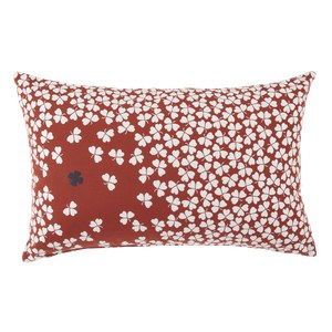 Fermob Trefle Coussin Trefle Rouge ocre L 68 x l 44cm