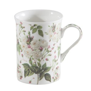par Coffret x 4 Mug trent white rose chintz  295ml