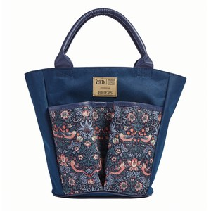 Briers  Sac de Jardin Strawberry Bleu paon 41x15x38cm
