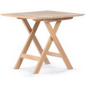 Wintons Teak Morse Table d appoint Morse carrée 55  55x55x50