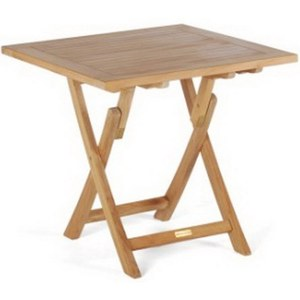 Wintons Teak Morse Table Vila pliable  80x80x75
