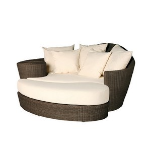 Barlow Tyrie Dune Ensemble Dune Daybed & Repose pied Java inclus coussins 800035/ 800070/800050 Blanc albâtre