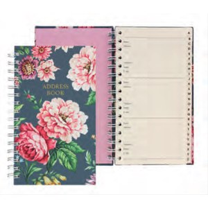 Carnet d'adresses oxted Warner Textile  21 x 15 x 1