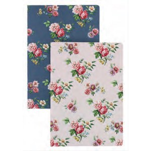 Set de 2 Carnets oxted Warner Textile  21 x 15 x 1