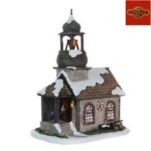 Luville  Eglise St Fried  25x17.5x31cm