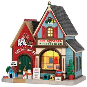 Lemax The Dog House  16.8x1.8x17.3cm
