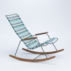 Houe CLICK Rocking chair CLICK Multi-couleurs H:38/91,5 X W:64 X L:99,5